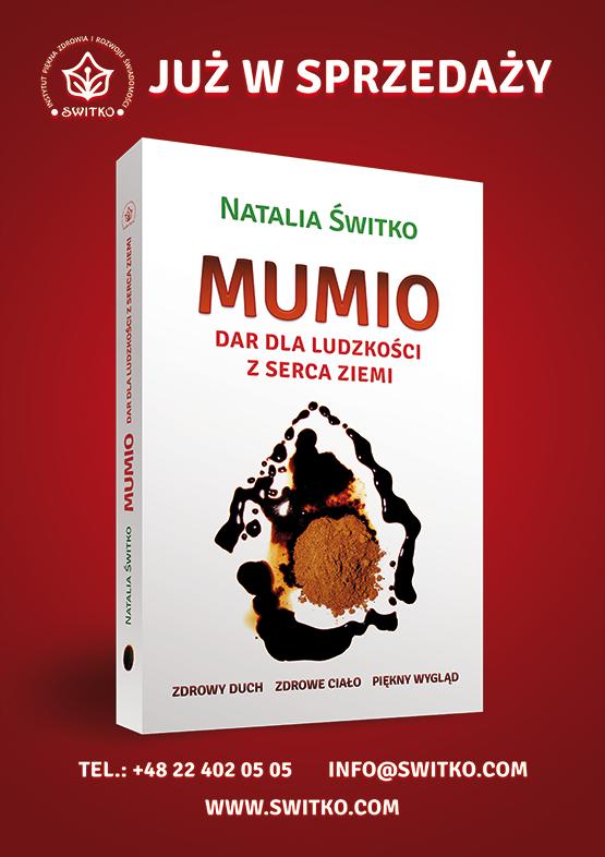 """Plakat książka """"Mumio"""""""
